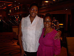 Dr. Goddess & Ananda @ Blogalicious 2010 Conference in Miami