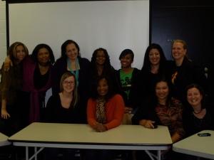 DC Women Entrepreneurial Leaders at DSN Women in Social Media Focus Group, November 2010