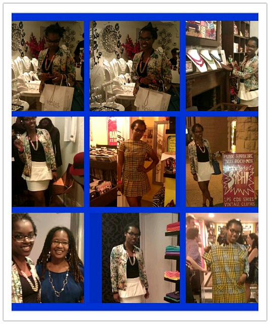 Fashion Night Out DC 2012 with Brea and Ananda in Adams Morgan