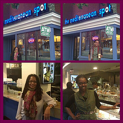 Brea and Ananda at The Mediterranean Spot