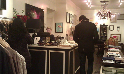 Visit to Eponymy boutique in Brooklyn