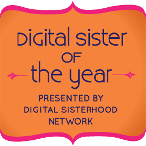 Digital Sister of the Year Badge created by Dariela Cruz