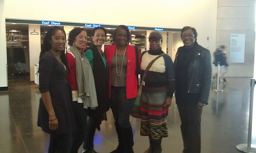 Digital Sisters at NYC Field Trip Meet Up at Brooklyn Museum