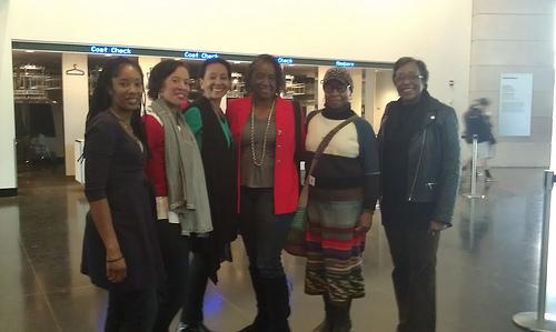 Digital Sisters at NYC Field Trip Meet Up at Brooklyn Museum