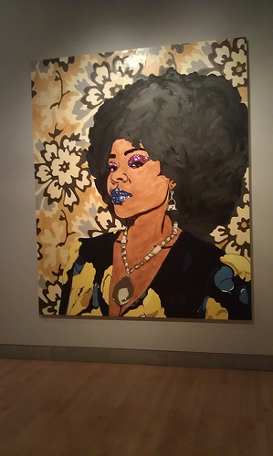 Art work by Mickalene Thomas