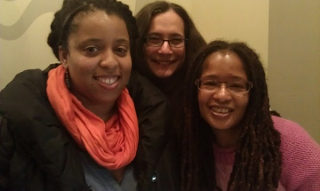 12/14 #DSMonth NYC Meet Up Members: Halana, Amy, and Ananda - Photo by Christina Soriano