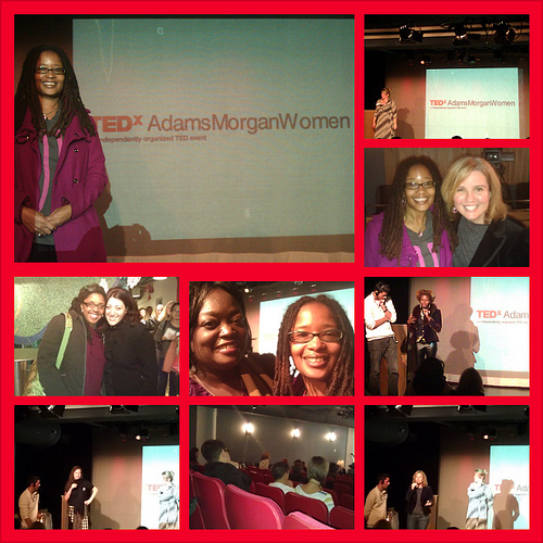Scenes from TEDxAdamsMorgan on 12/1/12