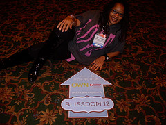 Ananda at BlissDom