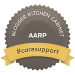 AARP Blogger Kitchen Cabinet #CareSupport campaign