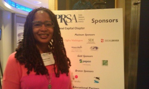Digital Sisterhood Network founder Ananda Leeke at PRSA NCC Social Media Week DC 2013 event