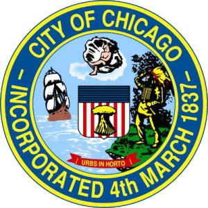 Chicago Seal - Photo Credit: www.usamapxl.com/usa/cities/chicago-map