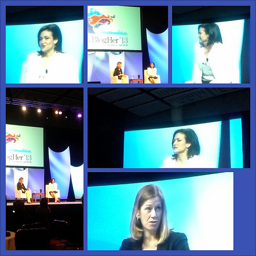 BlogHer interview with Sheryl Sandberg