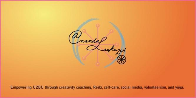 AnandaLeeke.com logo by Madelyn C. Leeke